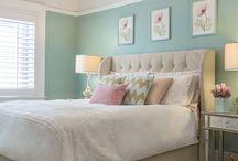 guest rooms / by Kaitlyn VanDeVelde