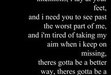 ●Daughtry● / Love this band and their lyrics which explains more than my heart ever could