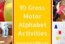 Gross motor phonics games