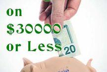 Budget et money challenge