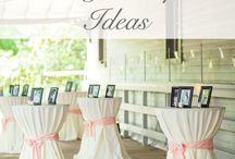 Wedding Reception Ideas / Ideas to make your reception a success.