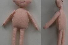 Bambole Di Feltro