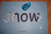 Seasonal- January (Winter and Snowman Preschool and Kindergarten Themes) / by Seemi @ Trillium Montessori