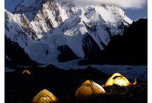 Everest a ostatní skály/kopce