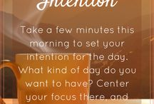Peaceful Mornings / How you spend your morning can have a big impact on the way the rest of your day goes. Try some of these ideas for peaceful mornings, and set a positive intention and tone for your day right from the beginning!