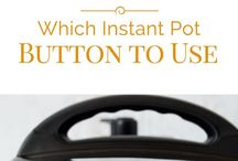 Instant Pot / Tips, tricks, and recipes to use with my Instant Pot Electric Pressure Cooker