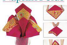 napkin folding!