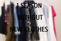 1 Season without New Clothes / It's stars today a big challenge that I propose: not buy clothes for a full season, in this case, fall / winter 2015!  And why?  1. Personal Challenge: 2. Challenge as fashion blogger:  3. Fashion blogger and creativity: 4. Learning for the future: