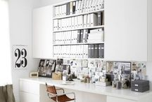 Studio and Office Space / Inspiration for your studio and office whether it's at home or in a big commercial space!