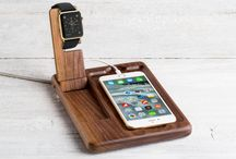 The Timber Catchall for Apple Watch / Place everything in the same place and take a moment to observe the world. Introducing the Timber Catchall for Apple Watch from Pad and Quill.