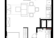 Интерьеры мини квартиры студии