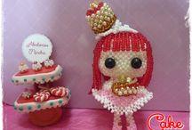 Mincha´s doll / Divertidas muñecas de abalorios