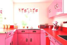 Valentine's Day: Red, Pink, Countertops and Sink