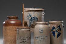 Pottery and crocks