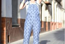 Turia dungarees pattern / Turia dungarees/overalls pattern mad by you