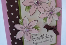 Cards-Flowers / by Sue Griffin
