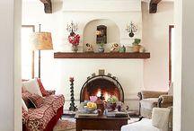Decorating Spanish style achitecture