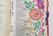 Bible Journaling - Hymns / Songs