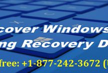 Contact 1-8772423672 to Recover Windows 10 Using Recovery Drive