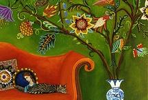 paintings / by Olga Gonorovskаya