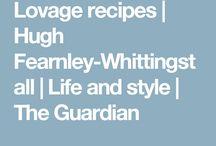 Lovage recipes