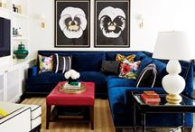 Living Room Interior / I love furniture.  What most people don't know is that I possibly love it more than fashion.