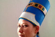 Creating of Nefertiti crown / How I made a crown for my pharaonic fusion dance
