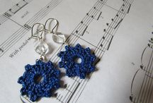 Crochet jewelry  / by Linda Juhl