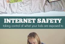 Internet | Online safety for kids / Internet safety tips and rules helping parents keep kids safe online.