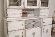 régi szekrény