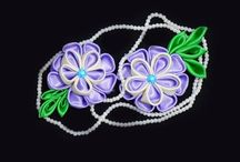 Ribbon Flowers & Fabric Flowers Tutorials / Ribbon flowers and fabric flowers tutorial