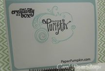Stampin' Up! Paper Pumpkin!