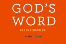 Word / Bible quotes  / by Kim Zajan