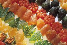 Culinaria - Doces Cristalizados
