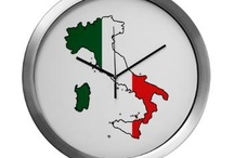 Italy Flag Map Products