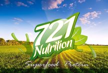 721 Nutrition / 7superfoods, 2times a day, 1shake! 100% organic shake containing all essential superfoods, stevia and protein!
