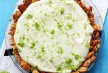 Lime pie / Condensed milk