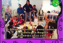 Juegos Recreativos / Hacemos las mejores fiestas infantiles bogota con juegos recreativos,decoración y personajes llamanos al 3204948120-4119497 http://goo.gl/Xzbl12 #fiestasinfantilesbogota