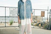 Look // Vestes en jean