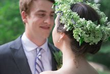 Wedding - flower crowns