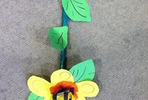 Family workshop Bee Friendly 29.7.14 / Come and make a flower for the bees in the world.  Inspired by the Flowers and Still Life Room in the Garman Ryan Collection.  Its the 40th anniversary this year.