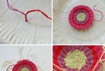 tkaní, pletení