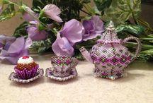 beaded miniature