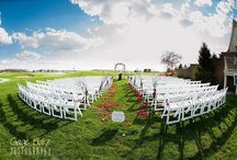 Ceremony / Wedding ceremonies held at Stone Ridge Golf Club in Bowling Green, OH.