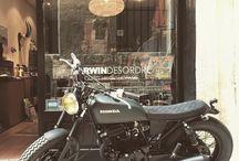 CUSTOM HONDA MOTORCYCLES