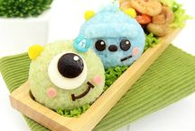 Bento - Comidinhas decoradas / Uma seleção inspiradora de bentos - marmitas para crianças com decoração e personagens!