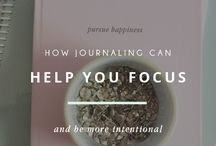 Intentional Living / Living a life of purpose