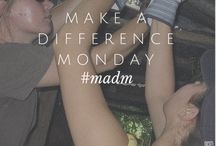 Make A Difference Mondays / Welcome to Make a Difference Monday, a day when VISIONS and past VISIONS participants offer ways to make a difference on a daily basis. It might be an energy saving or environmentally friendly tip (did you know that you should unplug your smartphone chargers from the wall socket when not in use?), an organization that you can help support (like DoSomething.org), or an alumni spotlight that looks at some of the amazing things our teen volunteers are doing now.