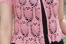 blusa tejida crochet