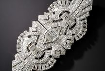 My mild obsession with Art Deco jewellery